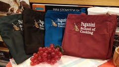 Loretta Paganini School of Cooking Logo Bib Apron (ass't colors)